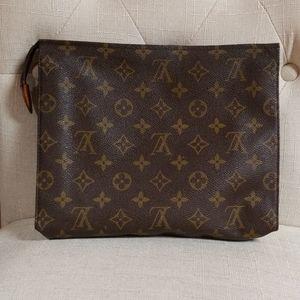 Authentic Louis Vuitton cosmetic bag